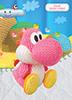 Yoshi di lana rosa